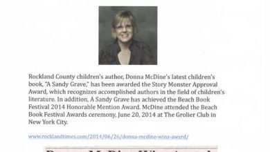 Photo of All Author Interviews Award-Winning Children's Author, Donna McDine