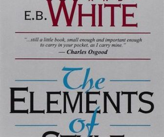 Book Review – The Elements of Style by Strunk and White