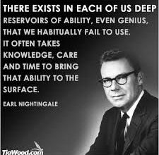 Photo of Honoring Great Inspirational Speaker and Author: Earl Nightingale
