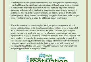 Photo of The Importance of Motivation on Your Sales Team